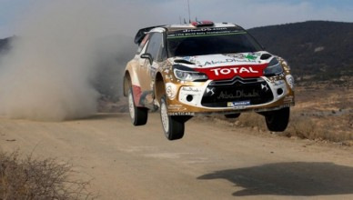 시트로엥 WRC 경기 이미지